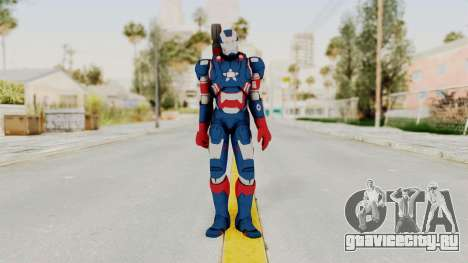 Marvel Heroes - Iron Patriot для GTA San Andreas второй скриншот