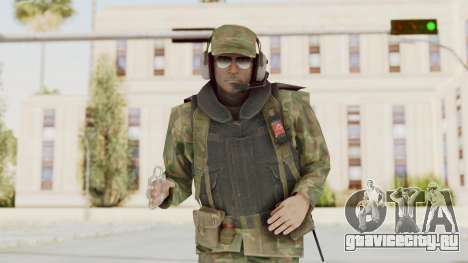 MGSV Ground Zeroes US Pilot v1 для GTA San Andreas