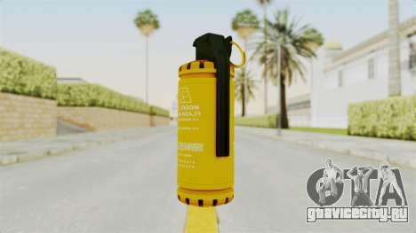 Tear Gas Gold для GTA San Andreas
