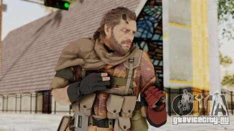 MGSV The Phantom Pain Venom Snake Sc No Patch v5 для GTA San Andreas