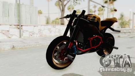 Honda CBR1000RR Naked Bike Stunt для GTA San Andreas вид справа