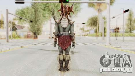 Mortal Kombat X - Kotal Kahn для GTA San Andreas третий скриншот