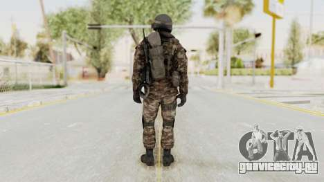 CoD MW3 Russian Military SMG v1 для GTA San Andreas третий скриншот