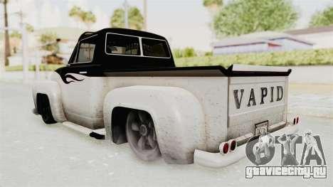 GTA 5 Slamvan Lowrider PJ1 для GTA San Andreas вид справа
