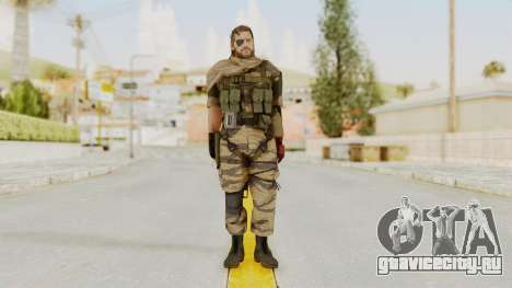 MGSV The Phantom Pain Venom Snake Scarf v2 для GTA San Andreas второй скриншот