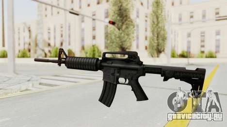 HD M4 v1 для GTA San Andreas второй скриншот