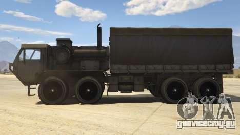 Heavy Expanded Mobility Tactical Truck для GTA 5 вид слева