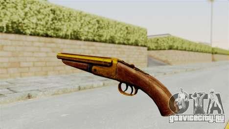 Sawnoff Gold для GTA San Andreas второй скриншот