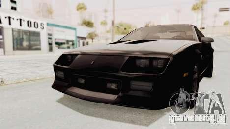 Chevrolet Camaro Z28 Iroc-Z Targa 1991 для GTA San Andreas