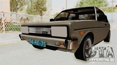 Fiat 131 Supermirafiori 1977 для GTA San Andreas вид справа
