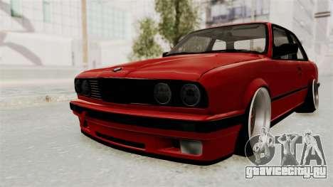 BMW M3 E30 Camber Low для GTA San Andreas вид сзади слева