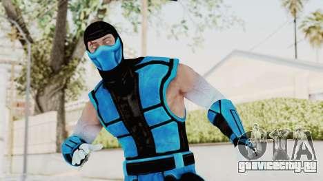 Mortal Kombat X Klassic Sub Zero UMK3 v2 для GTA San Andreas