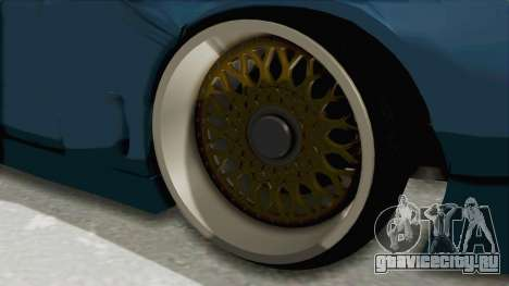 Mazda RX-7 FD3S Rocket Bunny v2 для GTA San Andreas вид сзади