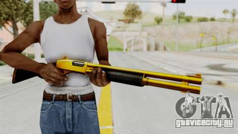 Remington 870 Gold для GTA San Andreas