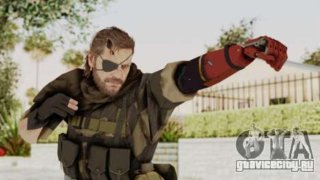 MGSV The Phantom Pain Venom Snake Scarf v4 для GTA San Andreas