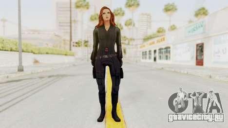 Captain America Civil War - Black Widow для GTA San Andreas второй скриншот