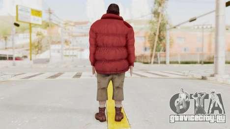 Alan Wake - Barry Wheele для GTA San Andreas третий скриншот