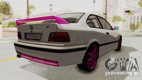 BMW M3 E36 Beauty для GTA San Andreas вид справа