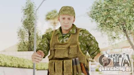 MGSV The Phantom Pain Soviet Union No Sleeve v2 для GTA San Andreas