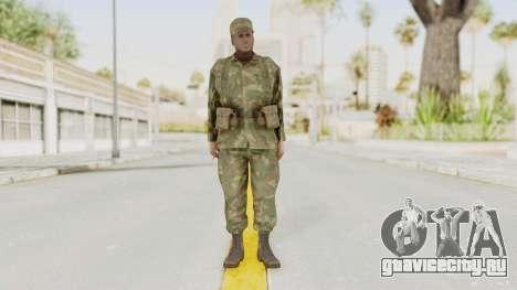 MGSV Ground Zeroes US Soldier Armed v1 для GTA San Andreas второй скриншот