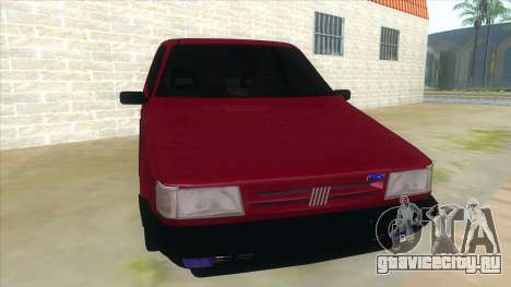 Fiat Uno S для GTA San Andreas вид сзади