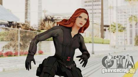 Captain America Civil War - Black Widow для GTA San Andreas