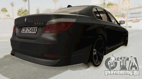 BMW 530D E60 для GTA San Andreas вид справа