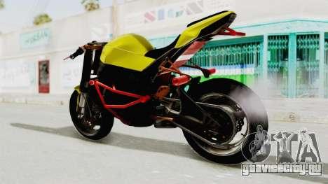 Kawasaki Ninja ZX-10R Nakedbike Stunter для GTA San Andreas вид справа