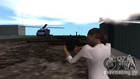 VIP Sniper Rifle для GTA San Andreas четвёртый скриншот