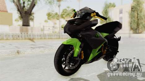 Yamaha MX King 150 Modif 250 GP для GTA San Andreas вид сзади слева