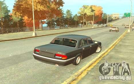 ГАЗ 3110 для GTA 4 вид справа