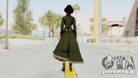 Bioshock Infinite Elizabeth Gibson для GTA San Andreas третий скриншот