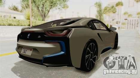 BMW i8-VS 2015 для GTA San Andreas вид сзади слева
