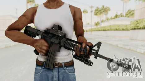 AR-15 with Eotech 552 and Flashlight для GTA San Andreas третий скриншот