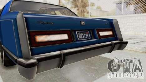 GTA 5 Dundreary Virgo Classic Custom v1 IVF для GTA San Andreas салон