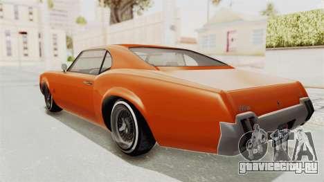 GTA 5 Declasse Sabre GT2 B для GTA San Andreas вид слева