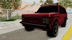Huntley LR для GTA San Andreas