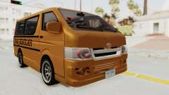 Toyota Hiace School Bus для GTA San Andreas