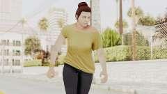 GTA 5 Online Female Skin 1 для GTA San Andreas