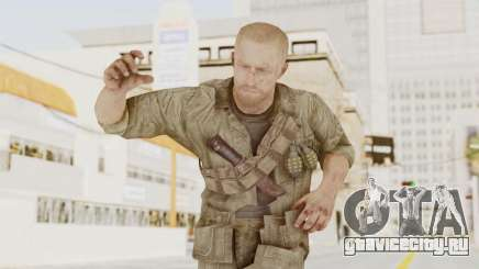COD BO Dempsey для GTA San Andreas