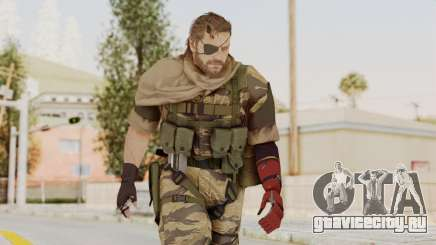 MGSV The Phantom Pain Venom Snake Scarf v2 для GTA San Andreas