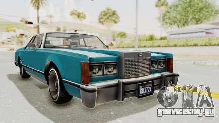 GTA 5 Dundreary Virgo Classic Custom v3 для GTA San Andreas