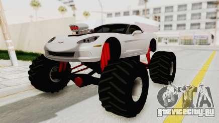 Chevrolet Corvette C6 Monster Truck для GTA San Andreas