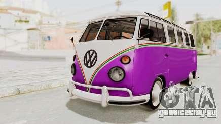 Volkswagen T1 Station Wagon De Luxe Type2 1963 для GTA San Andreas