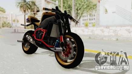 Honda CBR1000RR Naked Bike Stunt для GTA San Andreas