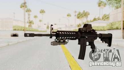 AR-15 with Eotech 552 and Flashlight для GTA San Andreas
