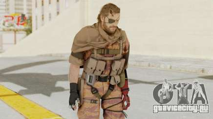 MGSV The Phantom Pain Venom Snake Scarf v5 для GTA San Andreas