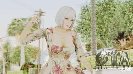 Dead Or Alive 5 LR - Christie Casual New Hair для GTA San Andreas