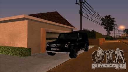 Mercedes G55 Kompressor для GTA San Andreas