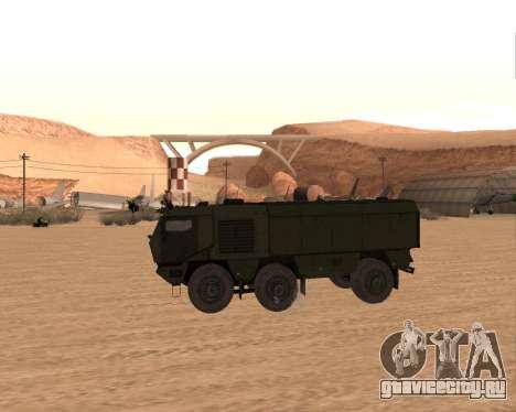 КАМАЗ 63968 Тайфун для GTA San Andreas вид слева